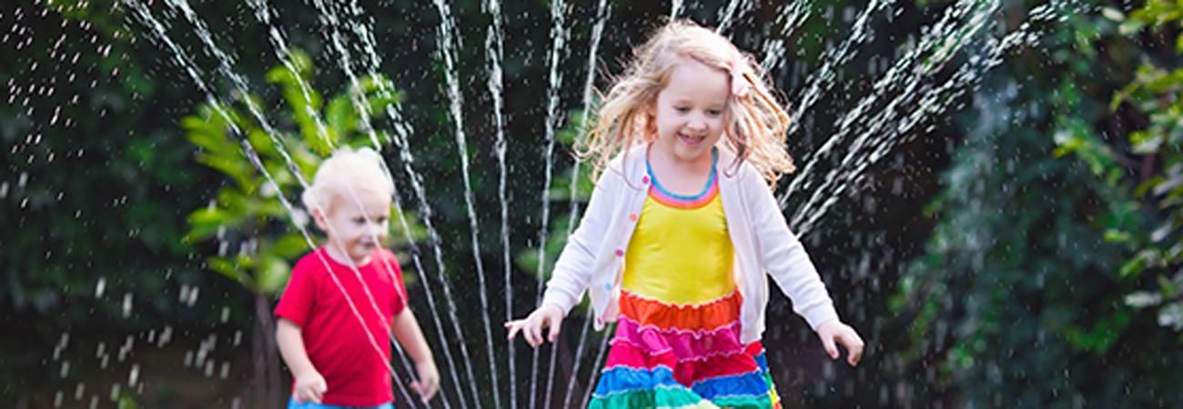 5 משחקי מים שווים לילדים